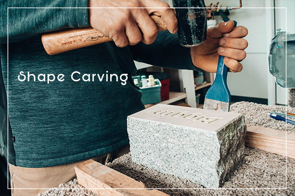 Shape Carving and Chiseling